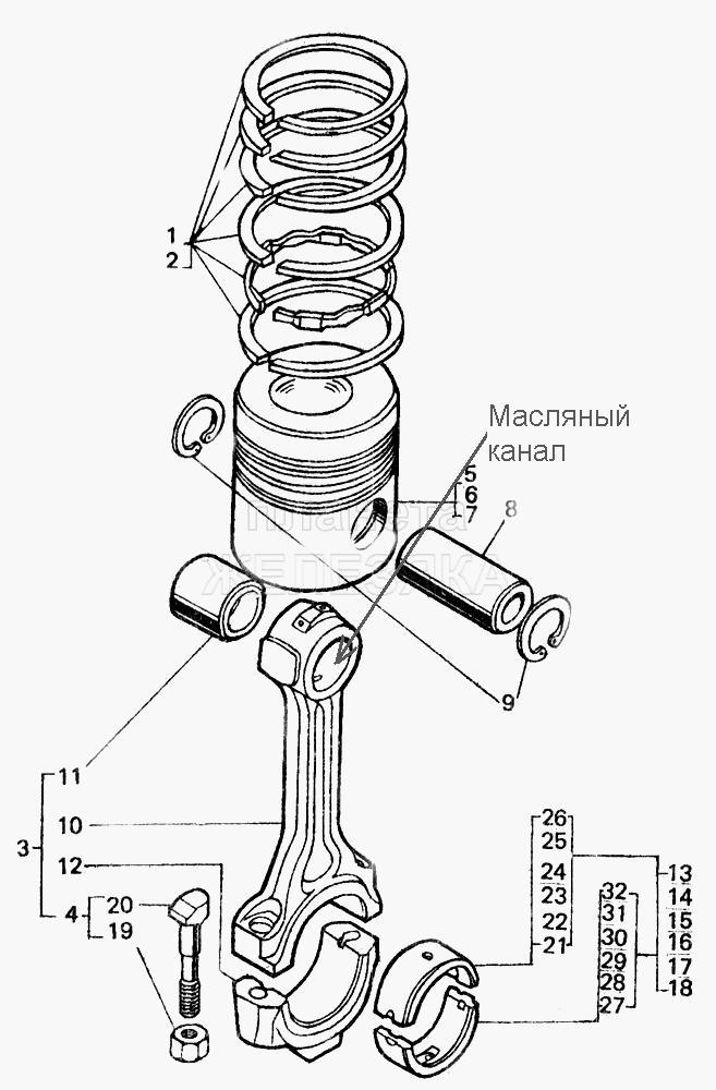 ремонт двигателя д-144 инструкция - фото 9