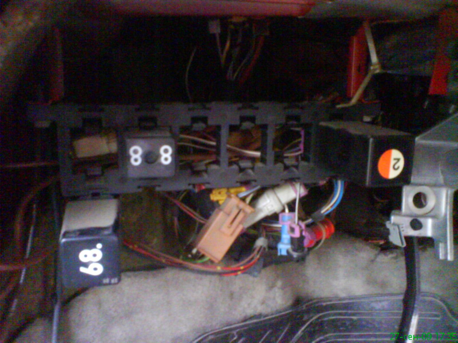 электрическая схема audi 80 sc