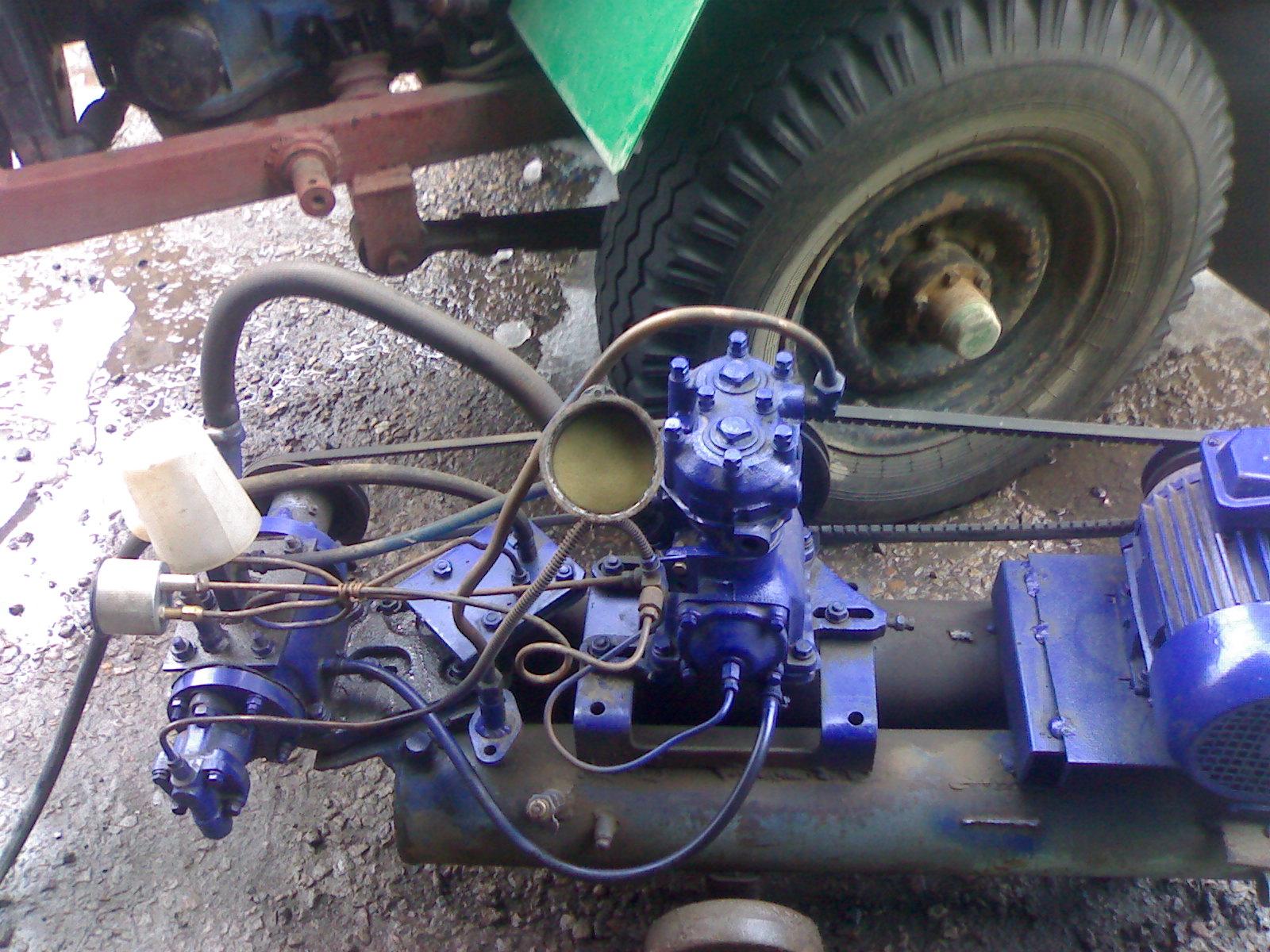 Как сделать компрессор из зиловского