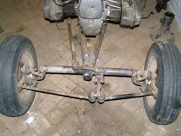 Передняя подвеска минитрактора