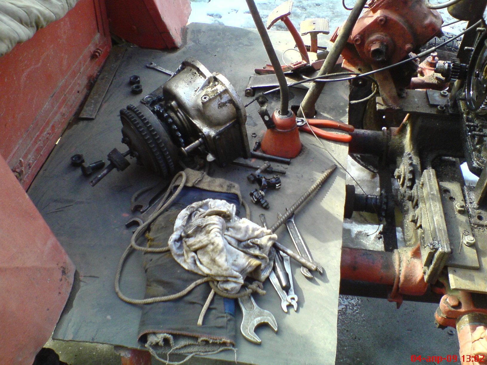 самоделки на двигателе зид схема